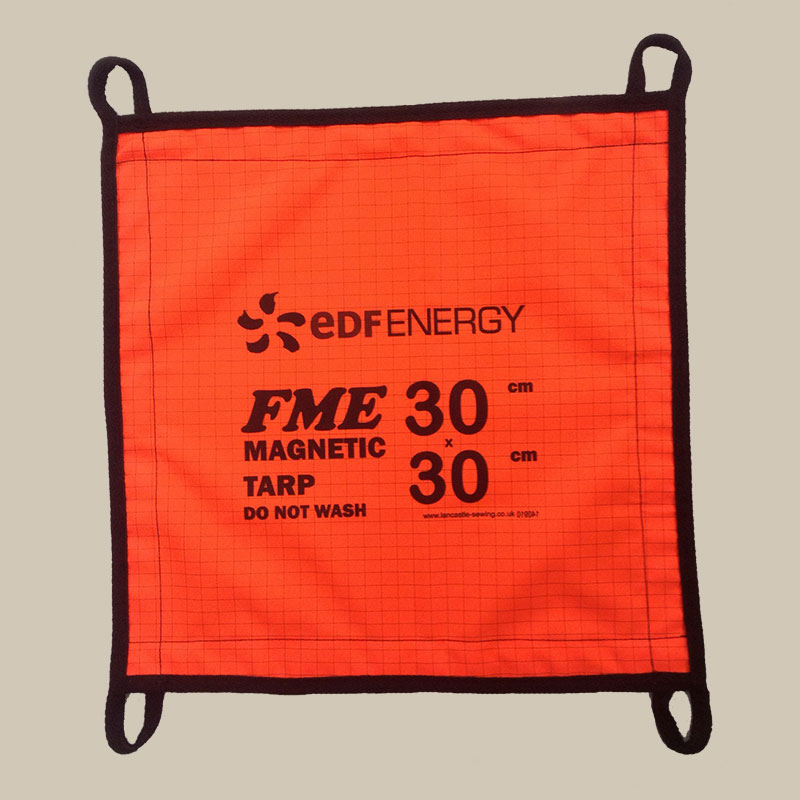 -- Magnetic Tarpaulins -- Made to order with logo